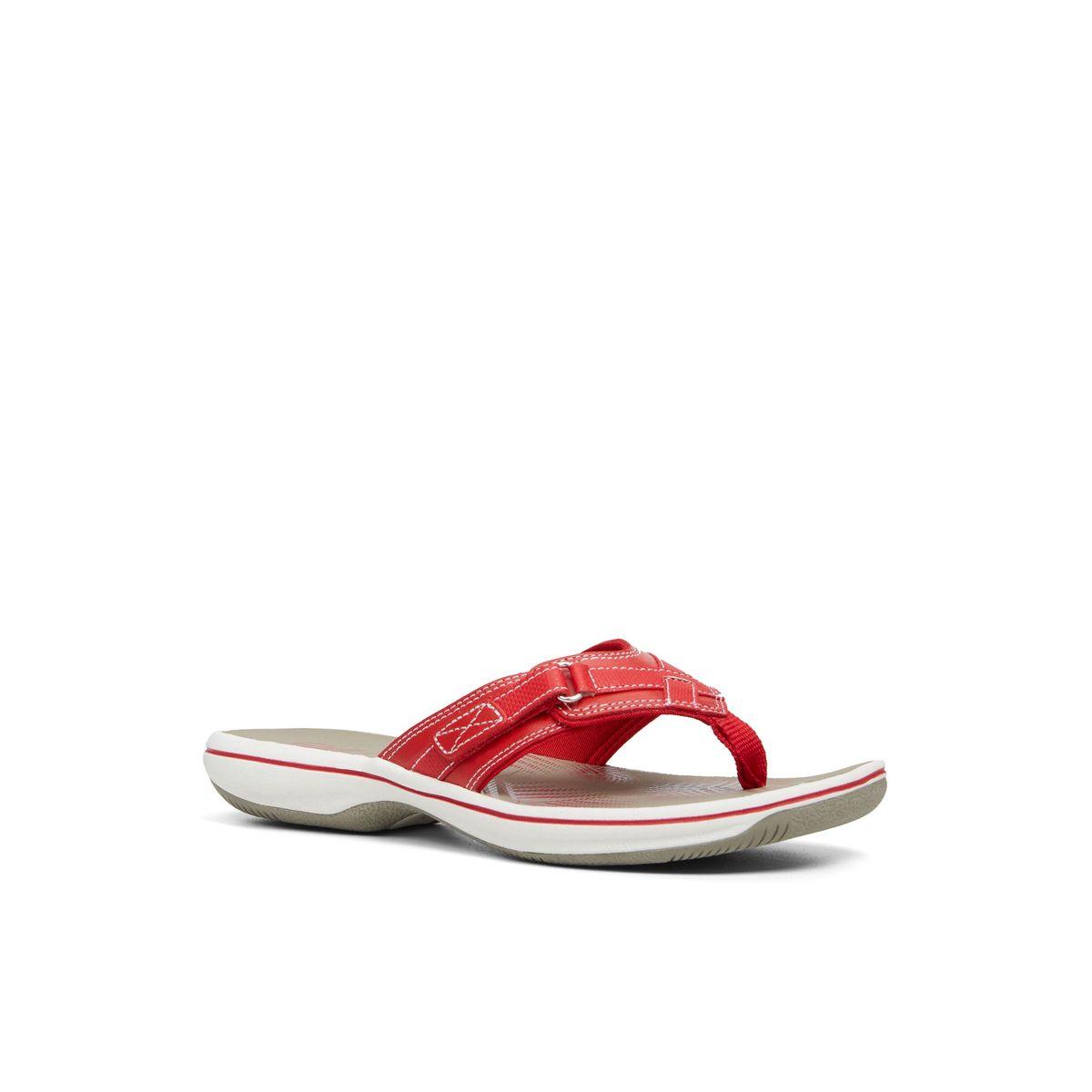 Red Flip Flopsamp; Heliven Canada Women's SlidesGlobo Nwnvm80
