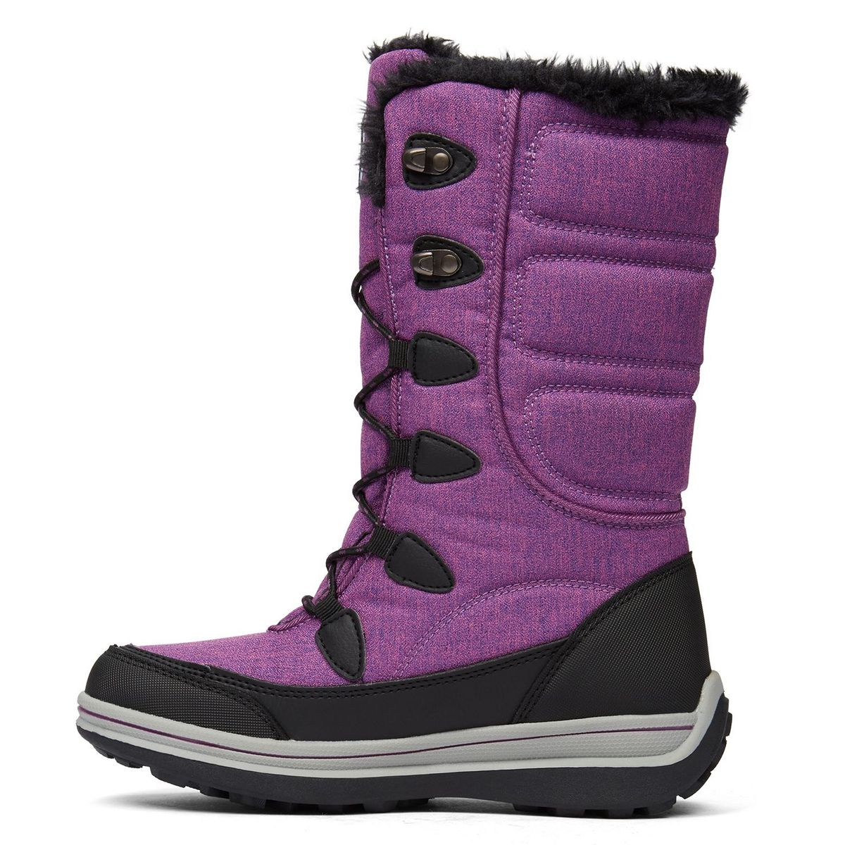 Olaonia Bottes d'hiverGlobo Femmes Canada Violet CoerdxB